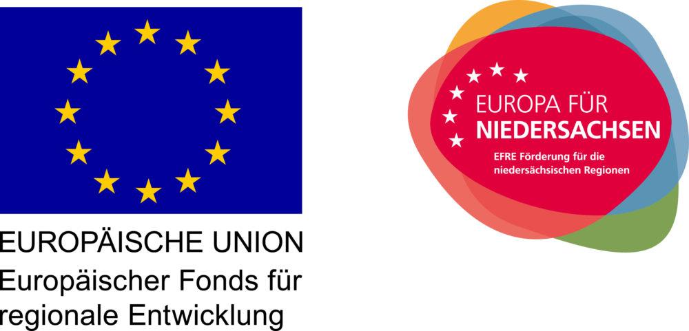 Logos Europäischer Fond für Regionale Entwicklung und EFRE
