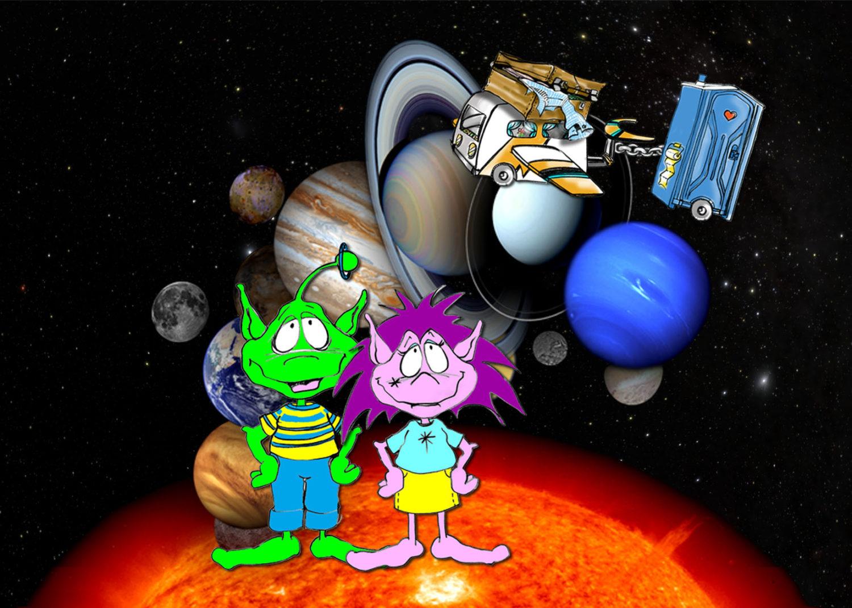 Planetariumsshow Abenteuer Planeten