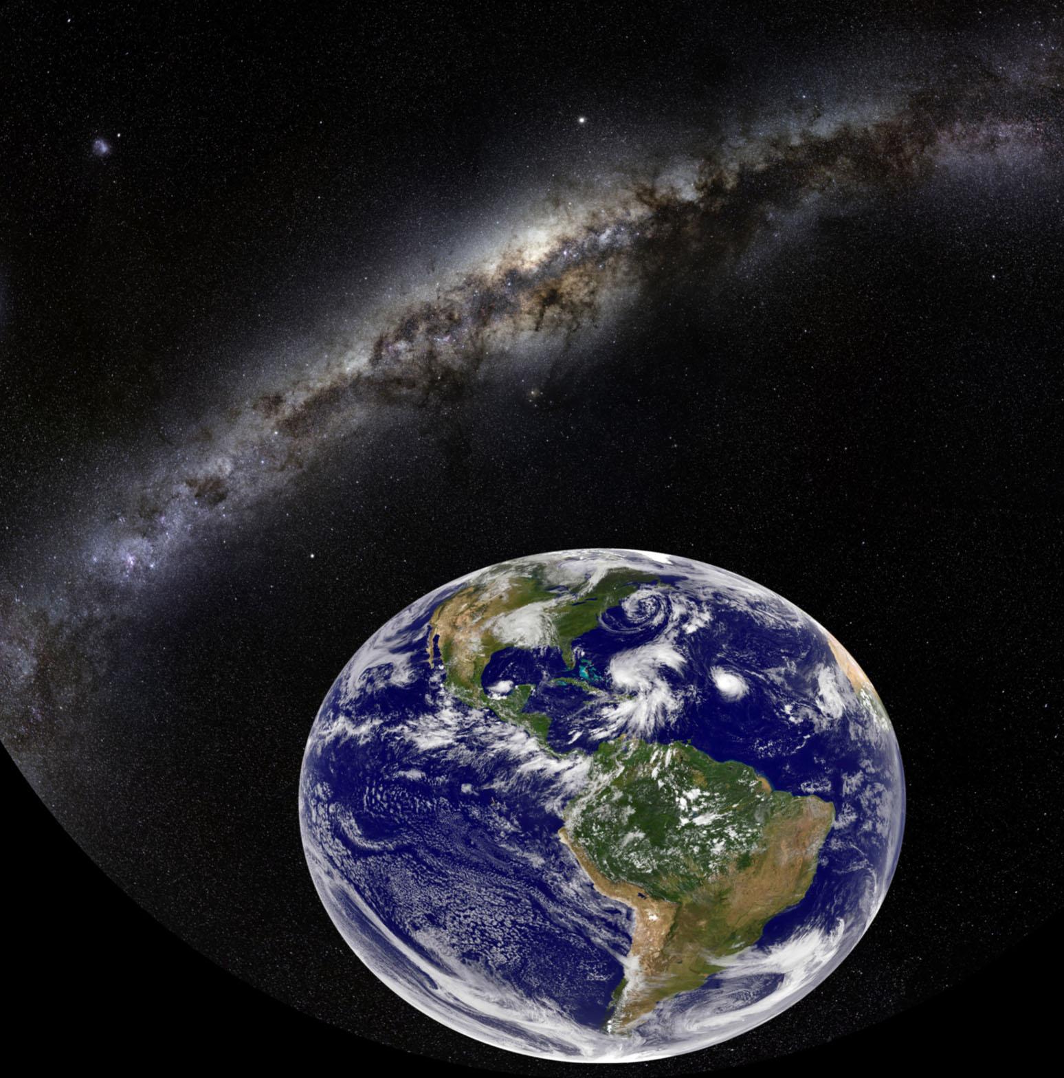 Von der Erde zum Universum
