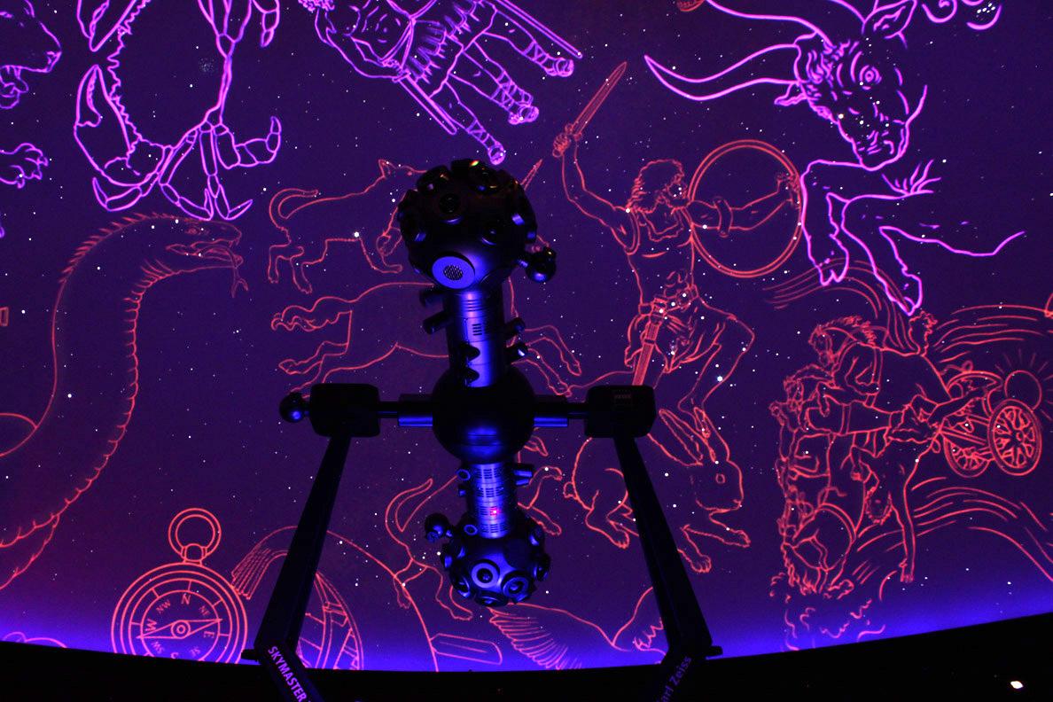 Sternhimmel im Planetarium Osnabrueck