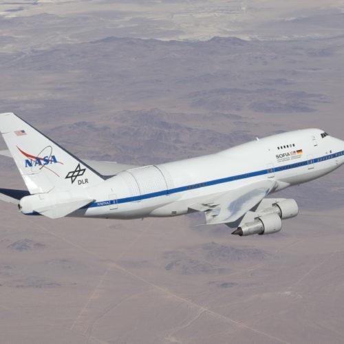 50000 Fuß über dem Meer - Die fliegende Sternwarte SOFIA