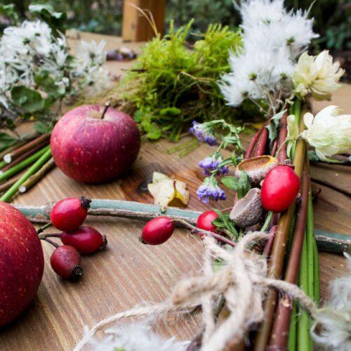 Gartenworkshop: Winterliche Dekoration